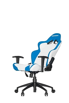 Vertagear High-Back Gaming Office Chair with Arms; White\/Blue