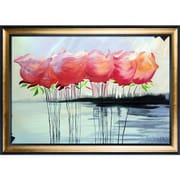 Tori Home A Touch of Color by Michael Hitt Framed Original Painting