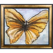Tori Home Butterfly by Susan Art Framed Original Painting