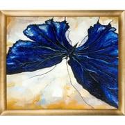 Tori Home Butterfly 2 by Susan Art Framed Original Painting