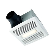 Broan InVent Single-Speed 80 CFM Energy Star Bathroom Fan w/ LED Light