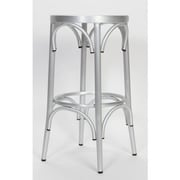 Alston Lugano 24'' Bar Stool; Brushed