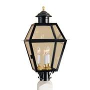 Norwell Lighting Lexington Outdoor 3-Light Lantern Head