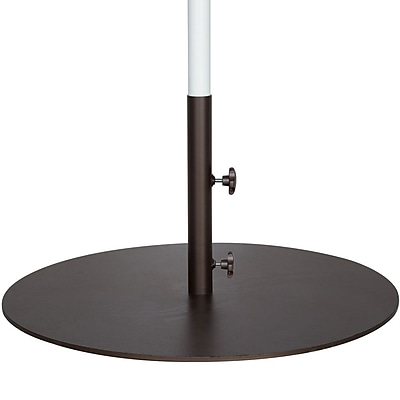 Abba Patio Round Steel Market Patio Umbrella Base WYF078278563144