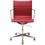Nuevo Antonio Desk Chair; Dark Grey