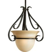 Progress Lighting Torino 1-Light Stem-Hang Mini Pendant