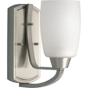 Progress Lighting Westin CFL Wall Sconce; Brushed Nickel - Energy Star