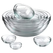 Anchor Hocking 10 Piece Mixing Bowl Set