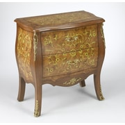 AA Importing 2 Drawer Bombay Chest