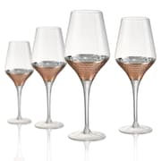 Artland Coppertino Hammer Goblet (Set of 4)