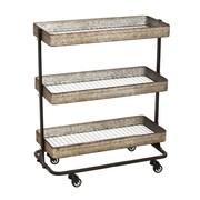 Evergreen Enterprises, Inc 3 Tier Serving Cart