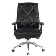 Viva Office Viva Office High Back Bonded Leather Executive Chair with Adjustable Armrest