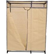 HomCom 63'' H x 48'' W x 19.7'' D Portable Wardrobe Clothes Organizer Closet