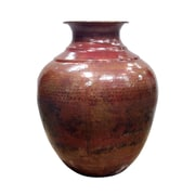Pasargad Pasargad Hand-Forged Decorative Copper Vase
