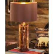 Evergreen Enterprises, Inc 24'' H Table Lamp with Drum Shade