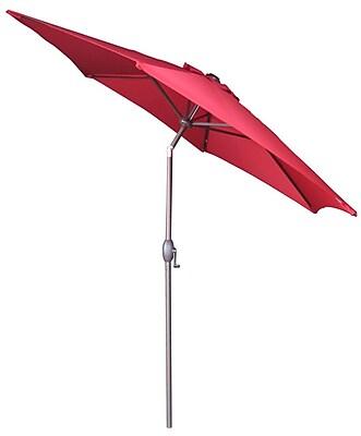 Abba Patio 9' Market Umbrella; Red WYF078278601186