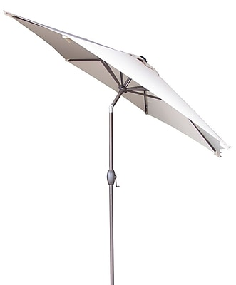 Abba Patio 9' Market Umbrella; Beige WYF078278601184