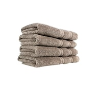 Makroteks Textile L.L.C. Antalya Wash Cloth (Set of 4); Rock Ridge