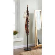 !nspire Metal w/ Solid Wood Hook Coat Rack