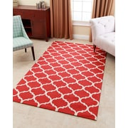 Abbyson Living Carson Hand-Tufted Red Area Rug; 8' x 10'