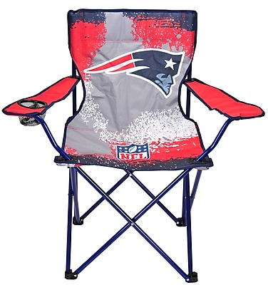 Idea Nuova NFL Kids Camping Chair w/ Cup Holder; New England Patriots WYF078278614606