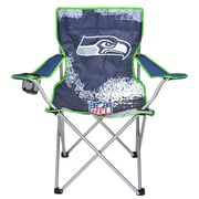Idea Nuova NFL Kids Camping Chair w/ Cup Holder; Seattle Seahawks