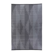 Fox Hill Trading Premiere Home Hand-Woven Gray/Blue Indoor/Outdoor Area Rug