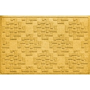 Bungalow Flooring Aqua Shield Jasper Doormat; Yellow