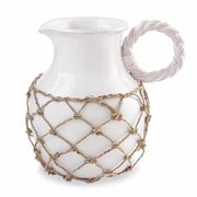 Mud Pie  Front Porch 118 Oz. Rope Handled Pitcher