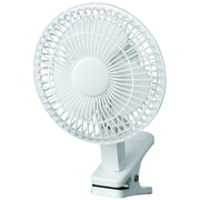 "Royal Sovereign, 6"" Clip-on Fan, White (DFN-06)"