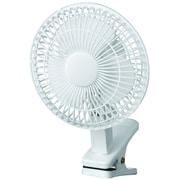"Royal Sovereign, 6"" Clip-on Fan, White (DFN-06)"