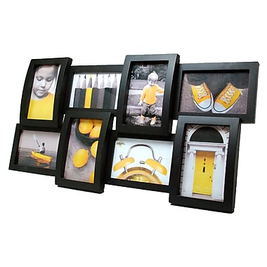AZ Home & Gifts Curve Black Wall Collage, 12.5
