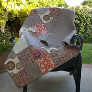 Greenland Home Fashions Stella Cotton Throw