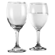 Home Essentials and Beyond Clear Wine Glass (Set of 4)