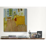 iCanvas ''Bedroom in Arles'' Canvas Wall Art by Vincent van Gogh; 12'' H x 12'' W x 0.75'' D