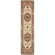 Safavieh Chelsea Red / Ivory Outdoor Area Rug; Runner 2'3'' x 8'