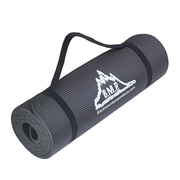 Black Mountain Products 0.5'' Yoga Mat & Carrying Strap