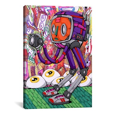 iCanvas The Tourist Canvas by Ric Stultz Graphic Art on Wrapped Canvas; 18'' H x 12'' W x 0.75'' D