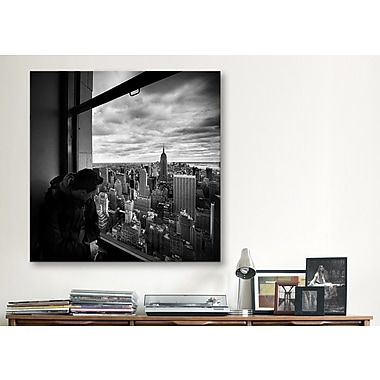 iCanvas New York City Manhattan View by Nina Papiorek Photographic Print on Canvas