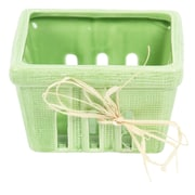 DEI Farmhouse Basket; Green
