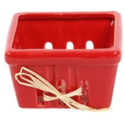 DEI Farmhouse Basket; Red