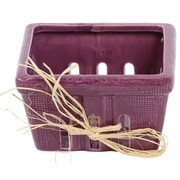 DEI Farmhouse Basket; Purple