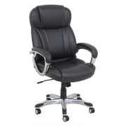 Barcalounger High-Back Leather Executive Chair with Arms
