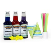 HawaiianShavedIced Shaved Ice and Snow Cone Syrups, 3-Flavor Fun Pack