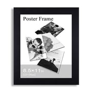 AdecoTrading Decorative 1.25'' Wide Wall Hanging Picture Frame; 8.5''  x 11''