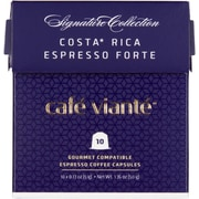 Cafe Viante Costa Rica Espresso Forte for Nespresso Coffee Capsules