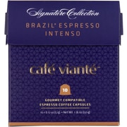 Cafe Viante Brazil Espresso Intenso for Nespresso Coffee Capsules