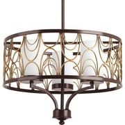 Progress Lighting Cirrine 3 Light Drum Chandelier