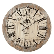 CBK Oversized 33.5'' Cafe De Paris Wall Clock