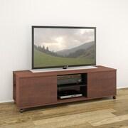 Nexera Jasper TV Stand; Moka / Black